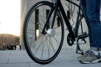 Innovation in Bicycle Security is on it's Front Wheels, Literally!