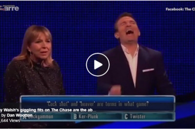 Bradley Walsh's giggling fits on The Chase are the absolute best